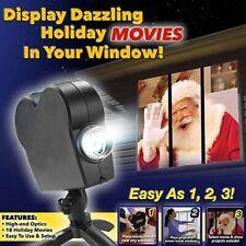 Window Wonderland Movie Projector Kit Christmas Halloween Decoration 12Modes🎃👻