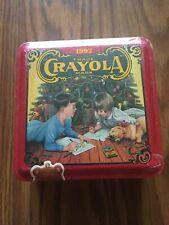 Crayola Crayons 64 ct & ornament Holiday 1992 tin new sealed