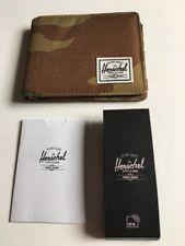 New Herschel Supply Co Desert Browns Camouflage Bi Fold Street Men's Roy Wallet