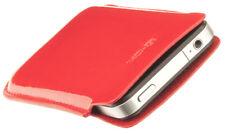 4-OK Soft Tasche Hülle Etui Case Cover Rot für Sony Ericsson Satio