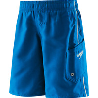 Speedo Boys Marina Volley Boardshorts Blue L New