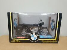 Nib Tootsie Toy 1960 Bmw R60-2 #3305 1/10th Scale Die Cast Motorcycle Black Rare