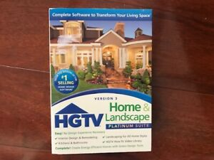 NOVA DEVELOPMENT HGTV HOME AND LANDSCAPE PLATINUM SUITE 3.0 - BRAND NEW