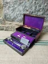 An Antique Leather Travel Box