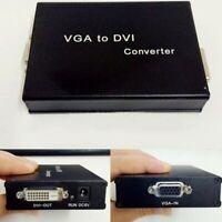 VGA to DVI-D Converter Analogue 24+1 Digital Signal Converter Adapter 1080P #SZ