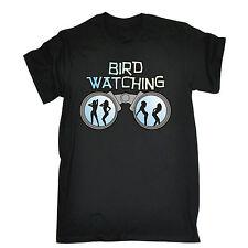 BIRD WATCHING T-SHIRT tee humour joke funny birthday gift 123t present for him