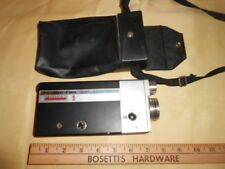 Vintage Bell & Howell Canon Cine Canonet 8 Film Movie Camera with 10-25mm Lens
