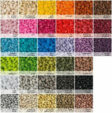 Granulat Décoratif Gravier Pierres Décoratives 2-3mm 1000g 'Différentes Couleurs