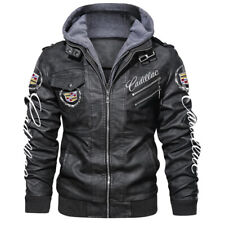 Cadillac/Escalade/CTS/CTS-V/ATS/XT4/CT6 Leather Jacket Perfect Gift