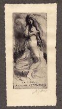 A.J.Alex, Ex Libris, 10 Original-Radierungen, signiert, 1923, Vorzugsausgabe