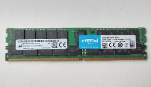 CRUCIAL 32GB DDR4-2400 SD-RAM RDIMM PC4-19200 CL17 MTA36ASF4G72PZ-2G3A1IG