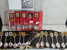Lot of 54 M.I. Hummel Goebel Silver Plated Spoons