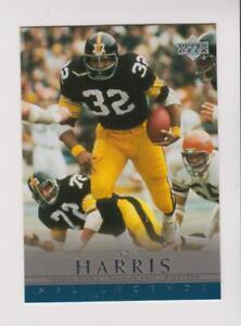 2000 Upper Deck NFL Legends #64 Franco Harris card, Pittsburgh Steelers HOF