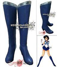 Cosplay Schuhe Stiefel Boots Sailor moon sailor mercury Mizuno Ami Gr.34-42
