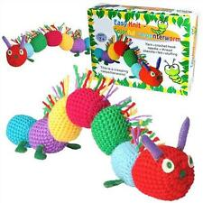 MAKE YOUR OWN MULTI COLOURED CATERPILLAR SOFT TOY CRAFT CROCHET & SEW KIT pw