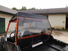 "Polaris RZR 800,800S Tinted Rear Windshield Hard Panel..A Full 1/4"" Thick"