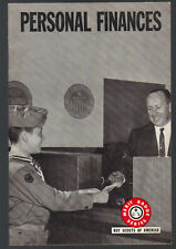 Personal Finances Merit Badge Series BSA SC 1970