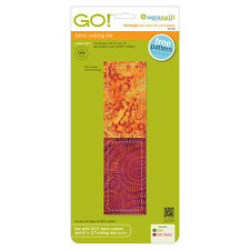 """AccuQuilt GO! & Baby Rectangle-2 1/2"""" x 4 1/2"""" (2"""" x 4"""" Finished)Die 55159 Quilt"""