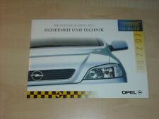 31332) Opel Astra Prospekt 1997