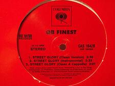 "NAS + CORMEGA + POET - STREET GLORY / STRAIGHT OUTTA Q.B. (12"") 2000!!!  RARE!!!"