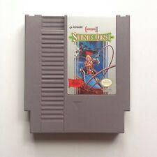 Castlevania II: Simon's Quest (NES, 1988) Excellent - Perfect Condition