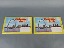 2pc Multi Packs Missouri MO St Louis Cathedral Gateway Arch Postcard Old Vintage