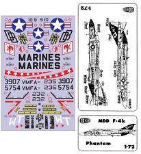 "1:72 McDonnell Douglas F-4K Phantom  US Marines ""C3D Decals""  NEU / NEW !!!"