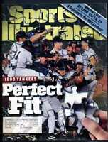 SPORTS ILLUSTRATED NOVEMBER 2 1998 1998 YANKEES PERFECT FIT