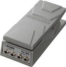 Boss fv-30l Volume pedal música accesorios synthesizers estéreo carcasa de aluminio