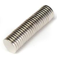 Neu 25Pcs 12x2mm N52 Super Stark Rund Scheibe Blöcke Selten Erde Neodym-Magnete