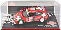 Model car 1/43 Rallye Monte Carlo 2003 Toyota Corolla WRC Burri & Hofmann Altaya