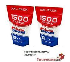 3000 Filtri SuperDiscount Slim 6mm - 2 Bag XXL 1500 Filtri
