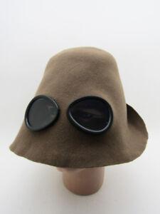 UNUSUAL 100% WOOL FELT Unisex HAT MONACO Classic Tour Driver Vintage Fashion Cap