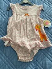 Carters Pink Leopard Print Tank w/Snap Closure - 24 Months - brand new