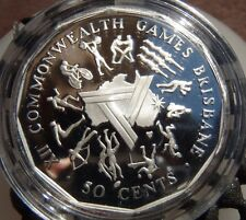 1989 Masterpiece in Silver coin removed from set - 1982 Commonwealth Games