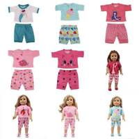 Dolls Clothes Tops + pants for 18-inch Dolls Clothes Accessories