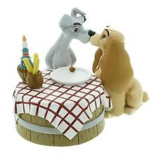 Disney Magical Moments Lady and The Tramp Love Figurine Boxed New DI193