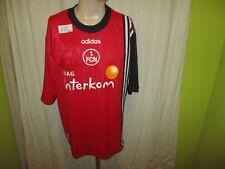 "1.FC Nürnberg Original Adidas Heim Trikot 1998/99 ""Viag Interkom"" Gr.XL Neu"