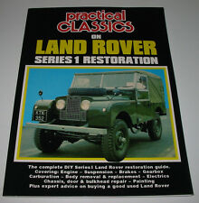 Restaurationsanleitung Land Rover Series I Practical Classic Restoration 1948-58