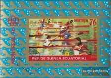 Äquatorialguinea block210 (complete issue) fine used / cancelled 1976 olympic. S