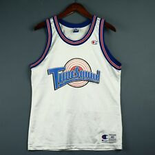 100% Authentic Lola Bunny Tune Squad Space Jam Champion Jersey Size 40 S M Mens