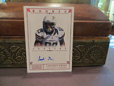 National Treasures Rookie Autograph Chargers Steelers Ladarius Green 1/1   2012