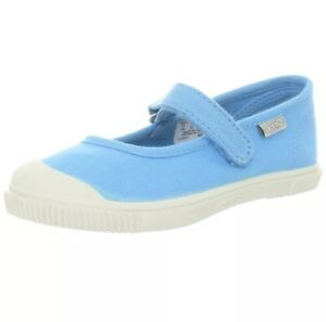 KEEN Girls Toddler Size 10 Blue Maderas MJ Mary Jane Shoe Canvas Kids - Stock 2