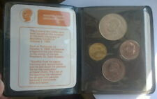 India 1969 Mint Proof Set of 4 Coins,With Gandhi Silver Coin