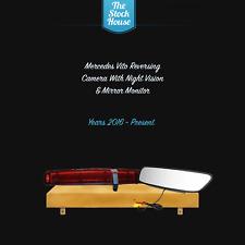 MERCEDES VITO REVERSING CAMERA & MIRROR MONITOR 2016 ONWARDS REVERSE BRAKE LIGHT