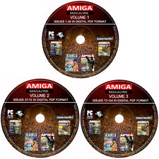 CU AMIGA Magazine Collection PDF Complete 104 Issues On DVD A1200/A500/600/CD32
