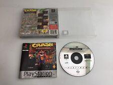 PS1 GAME ** CRASH BANDICOOT   ** Platinum - Free Uk Pp