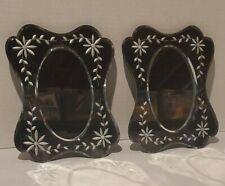 "Mirrors Wall Decor 8"" X 10"". Set Of 2."