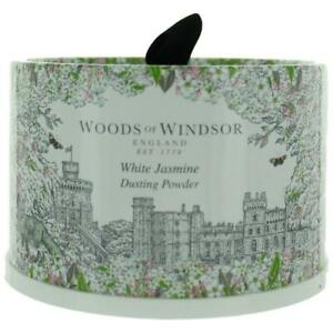 Woods Of Windsor White Jasmine 3.5oz Dusting Powder with Puff women