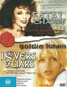 FEARLESS AKA: FATAL CHARM - JOAN COLLINS 1978 EROTIC THRILLER DVD + LOVERS LIARS